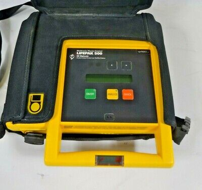 Medtronic Physio-control Lifepak 500 3d Biphasic Aed - Free Shipping