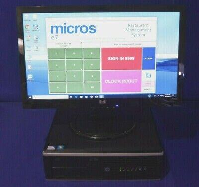 Micros E7 Hp Pos Server Win 10 V.4.2 Tls 1.2 Pci Compliant W Warranty