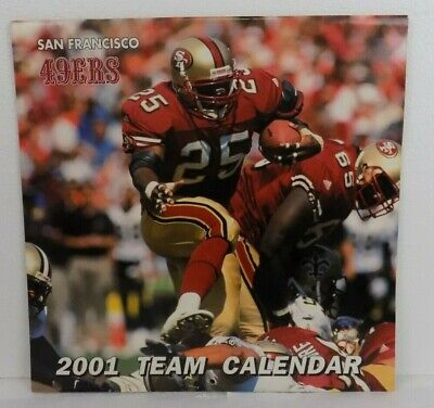 SAN FRANCISCO FORTY 49ers - 2001 TEAM -