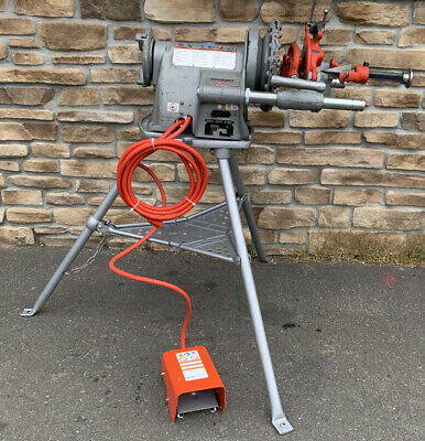 Ridgid 300 Pipe Threader 12-2 Rigid 535 700 Awesome Set - Late Model 3