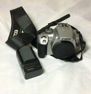 Canon Rebel XTi EOS Digital Camera Body Silver Model DS126151