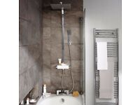 COOKE & LEWIS TIDAL CHROME THERMOSTATIC BAR MIXER SHOWER WITH DIVERTER RRP £250