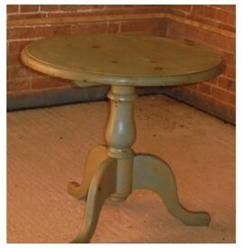 "Round Pine Tables - 30"" diameter, 27""high £25.00 each ono"