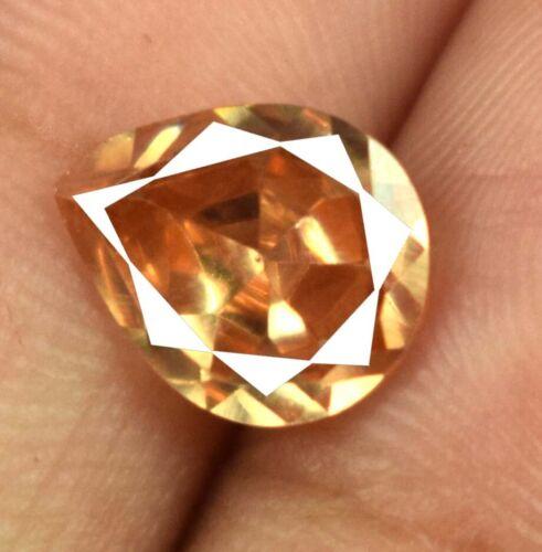 Earthmined Pakistan Brown Axinite Loose Gemstone Pear Cut Natural AGI Certified