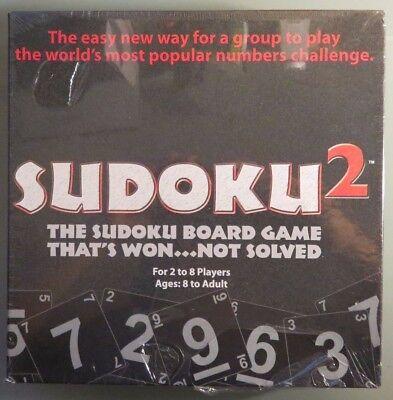 Sudoku 2 Board Game by TDC Games (B7)