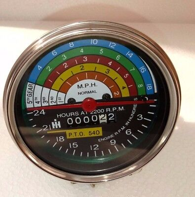 Tachometer For Farmall International Ih Utility 504