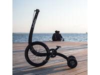 Halfbike II with 3 speed Sturmey Archer hub - Trike / Bike / Funky Bicycle from Kickstarter