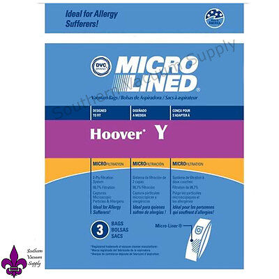 Hoover Windtunnel Type Y Windtunnel Vacuum Bags 3 Pack   Buy 2 Pkgs Get 1 Free