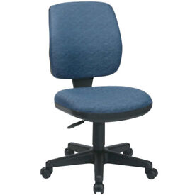 computer chair. swivel. excellant condition. dark blue/grey fabric. ONLY £8