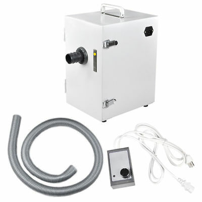 Dental Lab Digital Single-row Dust Collector Vacuum Cleaner 370w For Laboratory
