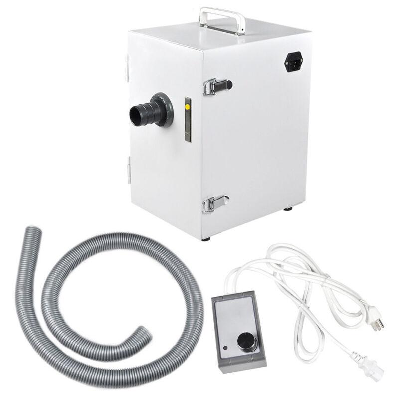 370W Dental Lab Digital Single-Row Dust Collector Vacuum Cleaner Machine Desktop