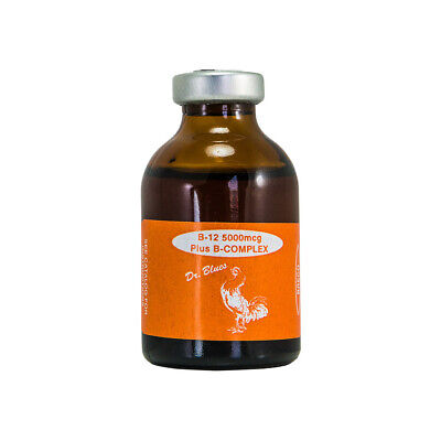 Breco B12 5000mcg Plus B Complex 30ml For Chicken Roosterspoultry