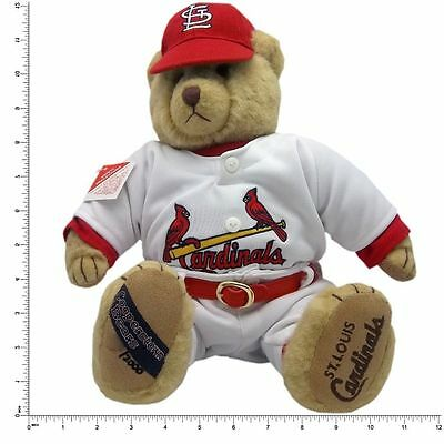 "St. Louis Cardinals Cooperstown Collection Mark McGwire #25 Plush 12"" Bear-10831"