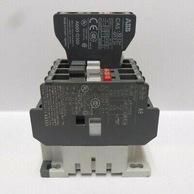 ABB NON-REVERSING CONTACTOR A9-30-10 , UI-1000V~ 26A , EAC-1-25A, 60947-4-1
