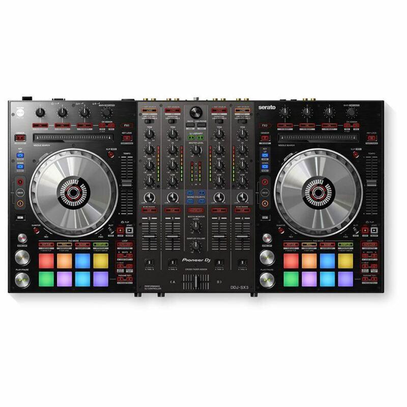 PIONEER DJ DDJ-SX3  (B-Stock) 4-ch DJ controller, Serato DJ Pro Compatibility