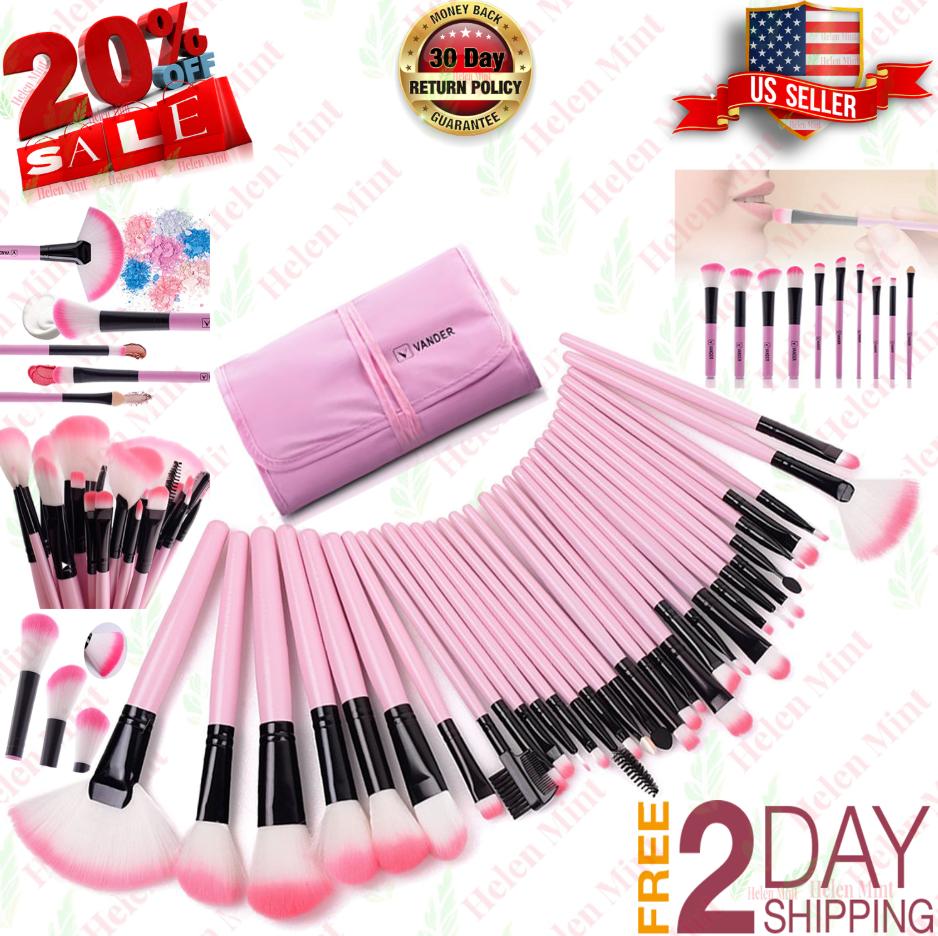Professional Makeup Brush Set 32 Conjunto De Pinceles Para M