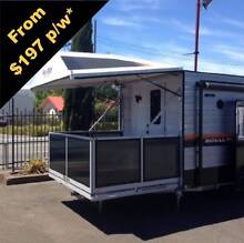 Caravan With its Own DECK Youngtown Launceston Area Preview