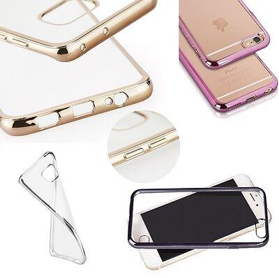 ^ BUMPER Handy Schale TPU CLEAR Etui Cover Case Schutz Hülle Huawei Honor 9 Lite
