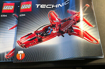 Lego Technic 9394 - Jet Plane - Instruction Books Set Of 2 .