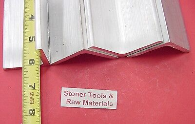 4 Pieces 2x 2x 14 Aluminum 6061 Angle Bar 6 Long T6 Extruded Mill Stock