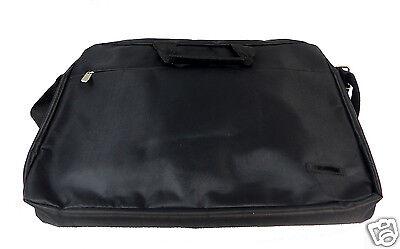 "NOTEBOOK Laptop TASCHE 17"" Zoll NOTEBOOKTASCHE Sleeve schwarz Schultergurt"
