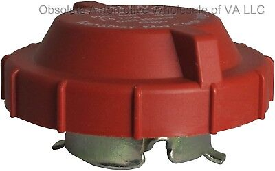 1980 - 1995 Ford F350 F250 F150 E Van Gas Cap Red Pre-Release NEW USA Made
