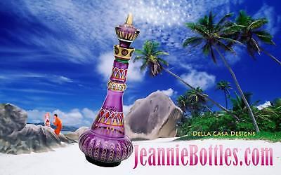 I DREAM OF JEANNIE/GENIE BOTTLE 2ND SEASON NEW TRANSPARENT PURPLE SPECIAL!