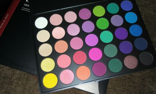 Morphe 35B Color burst  Palette super pigmented -100% AUTHENTIC - guaranteed USA