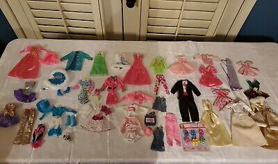 Large Barbie Skipper Clothes Lot 1980s 1990s