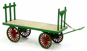 BANTA-MODELWORKS-BAGGAGE-WAGON-F-G-Large-Scale-Model-Railroad-Structure-BM931
