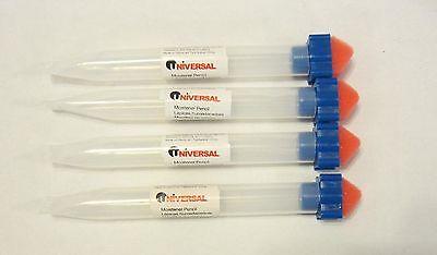 4 Universal Envelope Moistener Letter Sealer Pencils With Sponge Tip Licker
