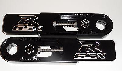 600 Gsxr 06-09 Suzuki Black Swingarm Bolt On Extensions Made In Usa