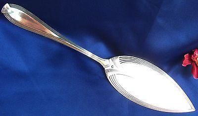 WMF Tortenheber Silber Auflage Jugendstil Art Nouveau Straußenmarke / Art. W 719