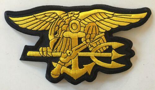 """Navy SEAL Special Warfare Trident Budweiser 6.5"""" Patch Hoo-Yah Freddy & Sammy"""