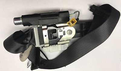 2009 TAHOE RH  PASSENGER SEAT BELT AND RETRACTOR GM PART 25918024 BLACK