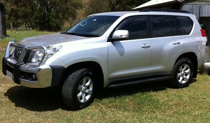 2011 LANDCRUISER PRADO  DIESEL BULLBAR TOWBAR NEW TYRES Beaudesert Ipswich South Preview