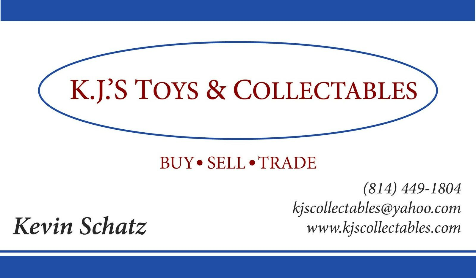 KJ's Collectables