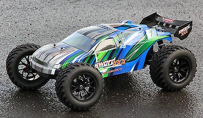 XTC RC MONSTER TRUCK TRUGGY NITRO VERBRENNER 70Km/h 2-GANG RTR 4WD 1:10 NEU