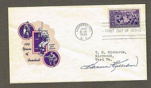 Harmon Killebrew Autographed 1939 Baseball Centennial 1st Day Cover COA