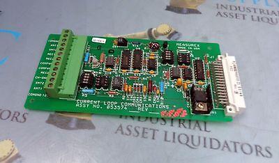 Measurex 05357402 Rev B Current Loop Communications Board