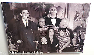 Addams Family Cast Vintage Photo 2