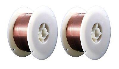 Er70s-6 - Mig Mild Low Alloy Steel Wire - 2 Lb X 0.030 2 Spools