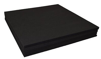"XCEL Craft Foam Pads Furniture Pads Acoustic Studio Squares 12""x12""x3/8"" (4 pcs)"