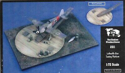 Verlinden 2311 1/72 scale Luftwaffe Gun Testing Platform Detail Set