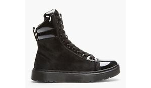 Patent Leather Calf Hair Doc Martens - Women's size 7