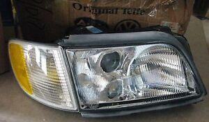 New Audi A6 C4 S6 Quattro Headlight Headlamp 95-96 Passenger Side 4A0941004AT