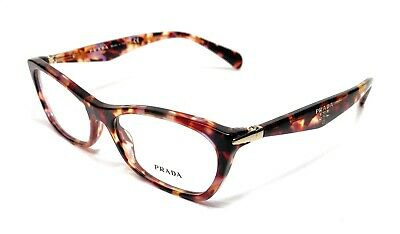 Prada VPR 15P PDN-1O1 Havana Women's Authentic Eyeglasses Frame 55-16