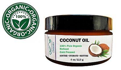 Quane Cosmetics Organic Coconut Oil for Hair , Skin & Face 4
