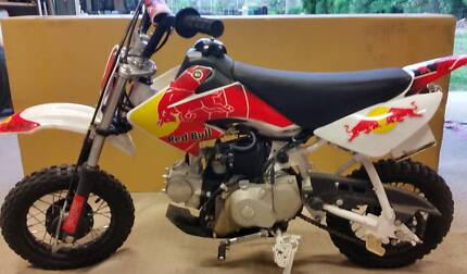 kids dirt bikes one red and one yellow 550.00 EACH