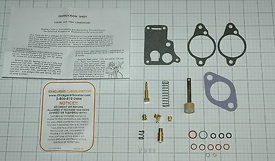 1946 52 CARB KIT CARTER WO 1 BARREL 870S CROSLEY 4 CYL ETHANOL TOLERANT ALL NEW